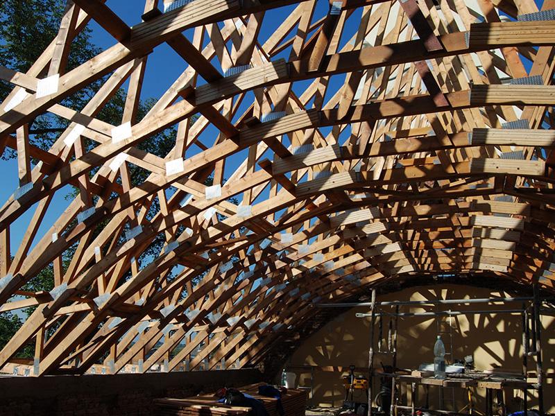 hantverkarpoolen wood constructions wiązary www1